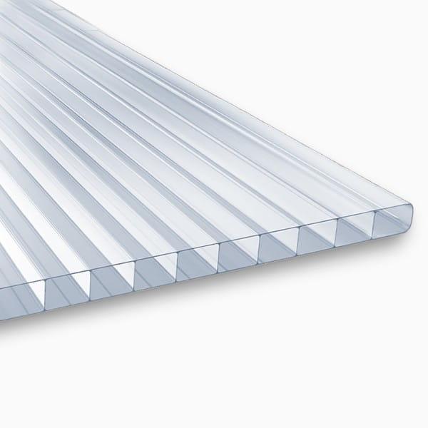 Doppelstegplatten 6 mm klar Polycarbonat - MARLON® ST Longlife
