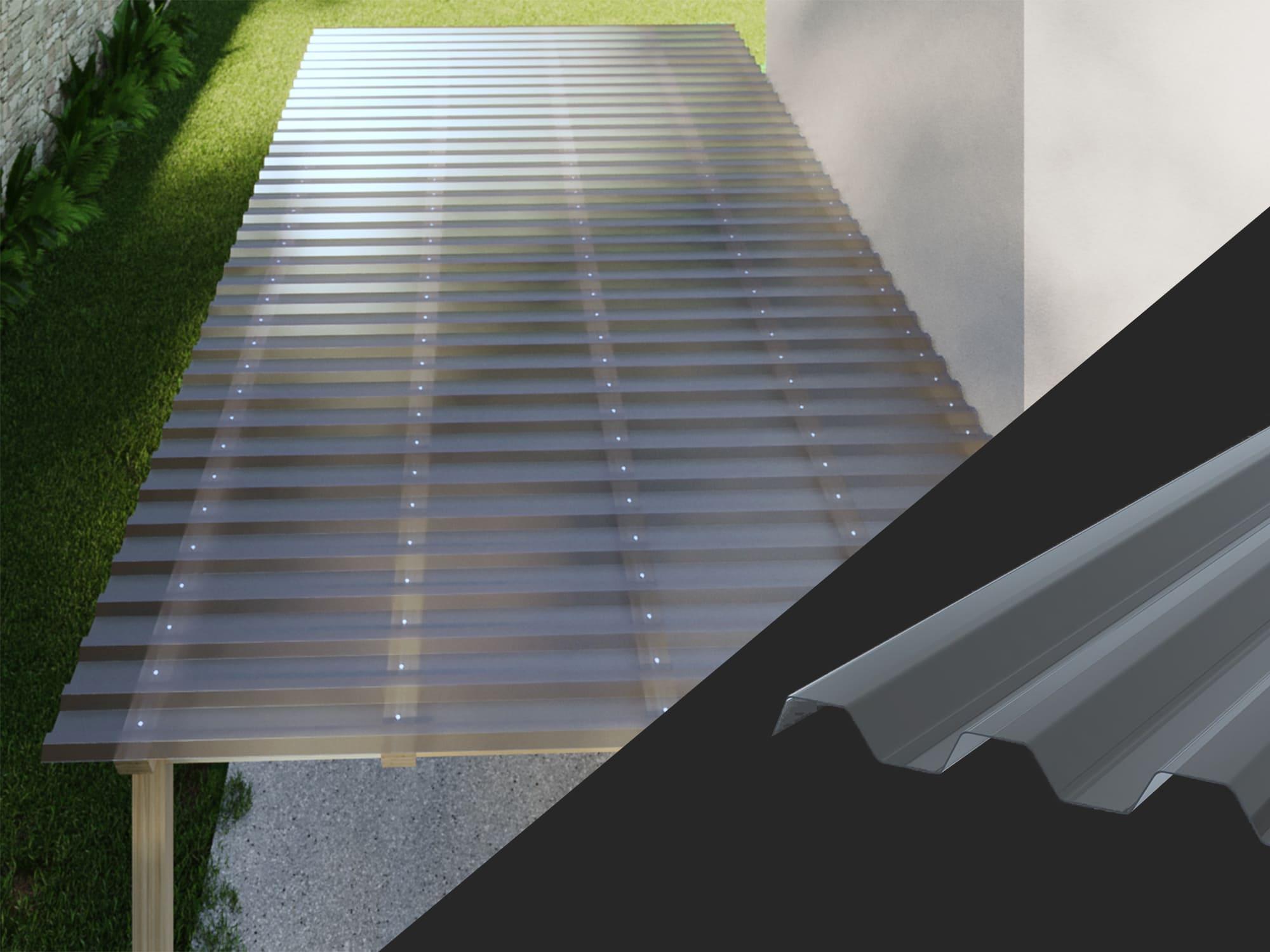 1,1 mm PVC Lichtplatten Set