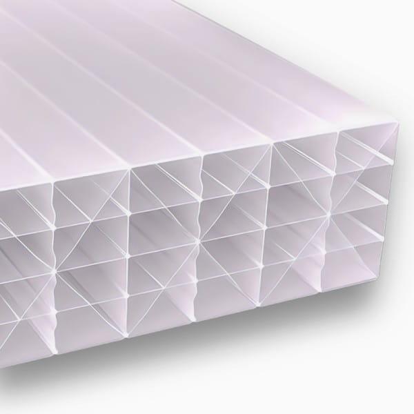 Doppelstegplatten 32 mm 5M Struktur opal Polycarbonat - MAKROLON® multi IQ Relax UV 5M/32-20