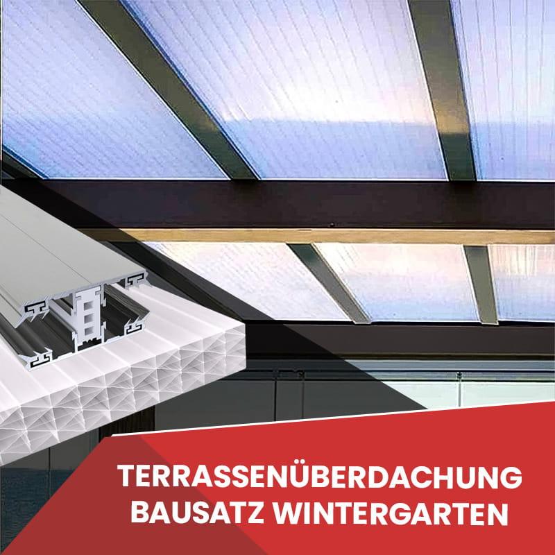 Wintergarten Dach Stegplatten 32 mm