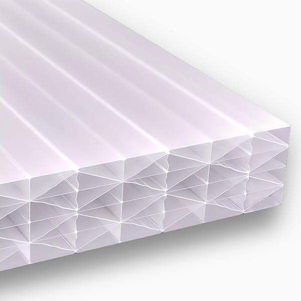 Doppelstegplatten 25 mm 5M Struktur opal Polycarbonat - MAKROLON® multi IQ Relax UV 5M/25-20