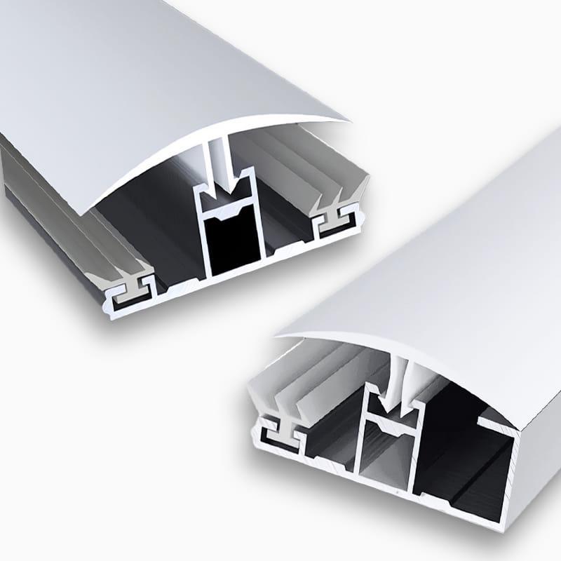 Alu-PVC Sprossenprofil 8 mm