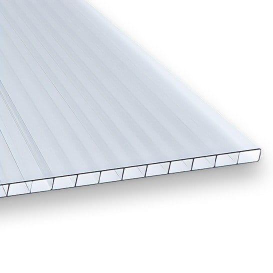 Hohlkammerplatten 4 mm klar Polycarbonat – Zuschnitte für Gewächshaus, Tomatenhaus, Frühbeet