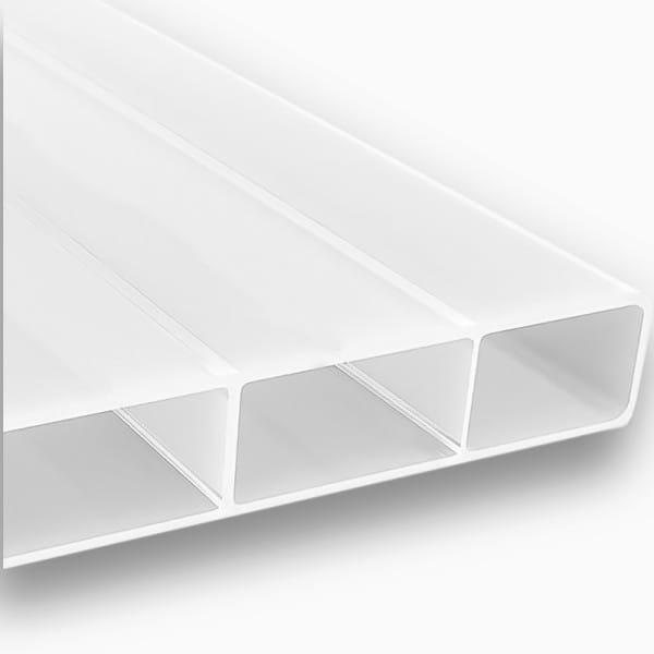 Stegplatten 16 mm weiß Acrylglas - HIGHLUX® SDP 16/32 (Plexiglas® Rohmasse)