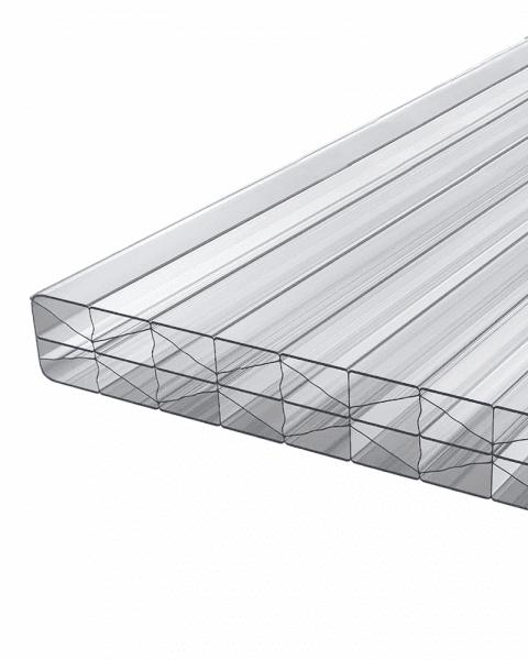 Doppelstegplatten 16 mm X Struktur klar Polycarbonat - MARLON® ST Longlife
