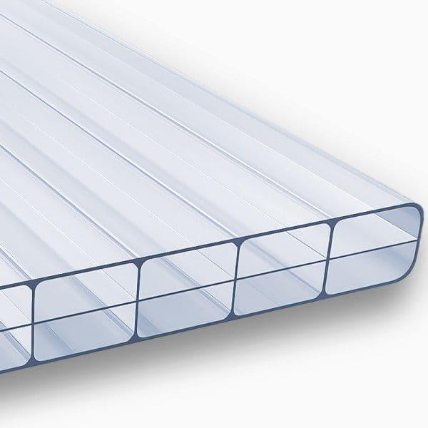 Doppelstegplatten 16 mm dreifach klar Polycarbonat - MARLON® ST Longlife